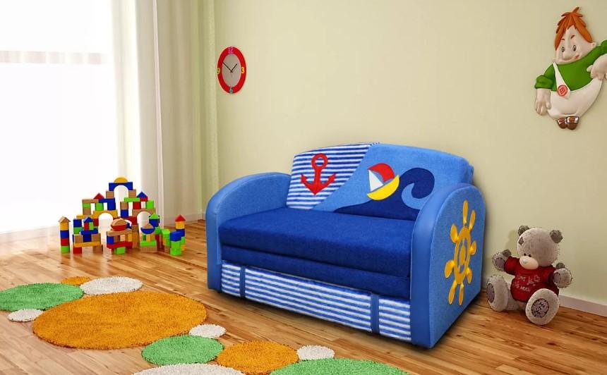 Какие бывают детские диваны-кровати для мальчиков?