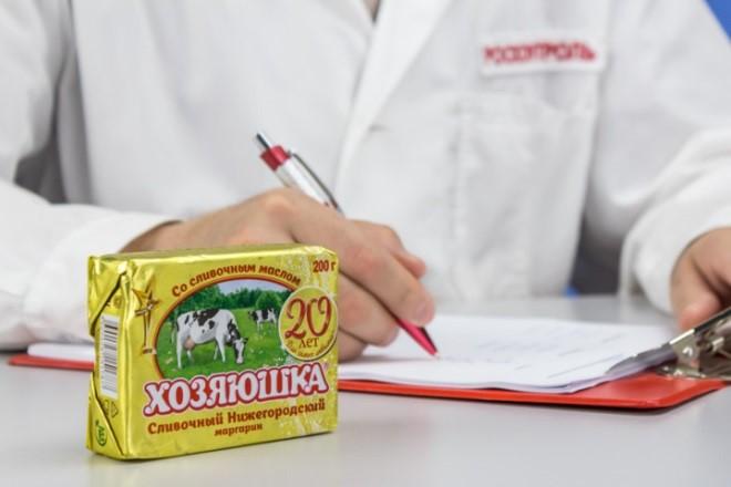 Антирейтинг маргарина в России по мнению Росконтроля