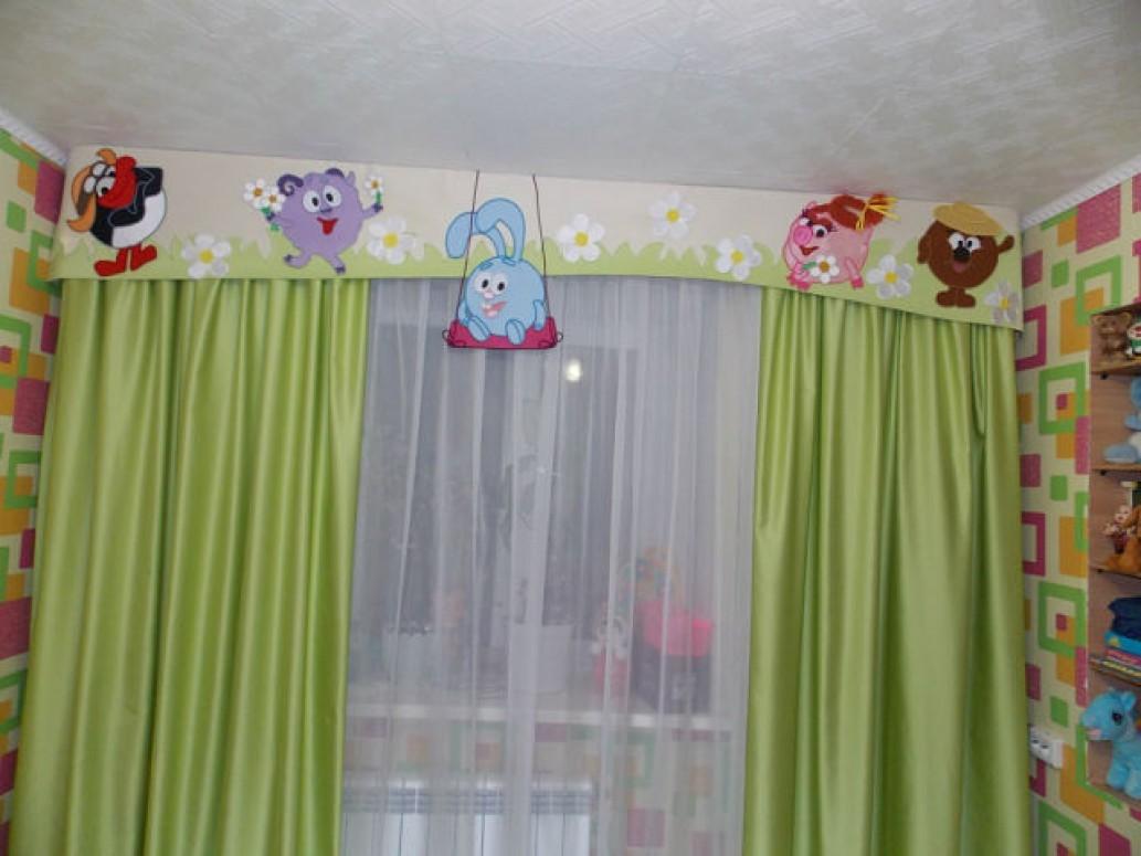 Ламбрекены в детскую комнату. На чём остановить свой выбор?