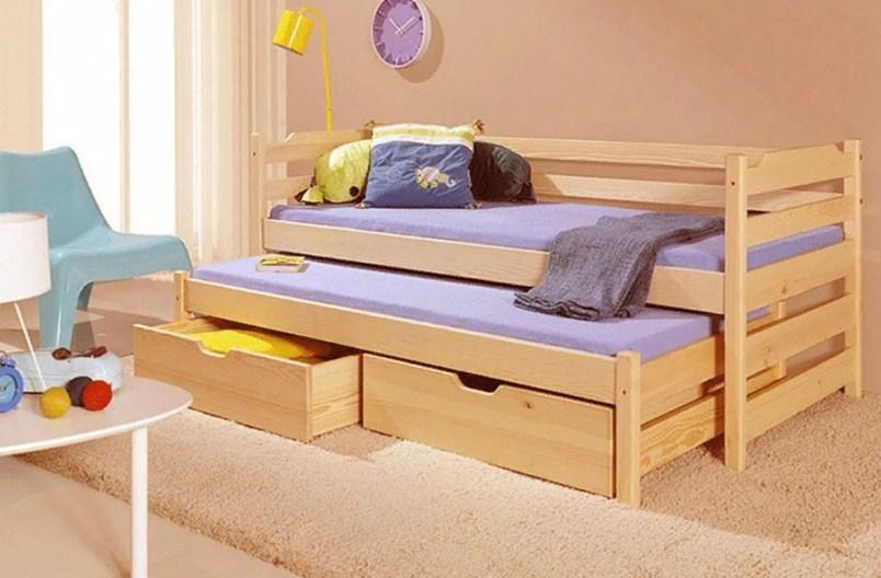 Выдвижные кровати для двоих детей: особенности конструкции и советы по выбору