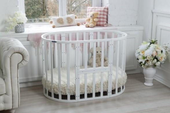 Кокон защиты: особенности выбора детской круглой кровати