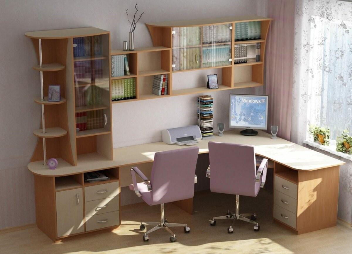 Как выбрать письменный стол для двоих детей