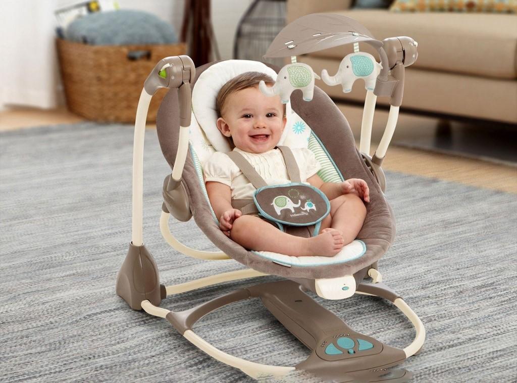 Шезлонг для новорожденных: особенности выбора