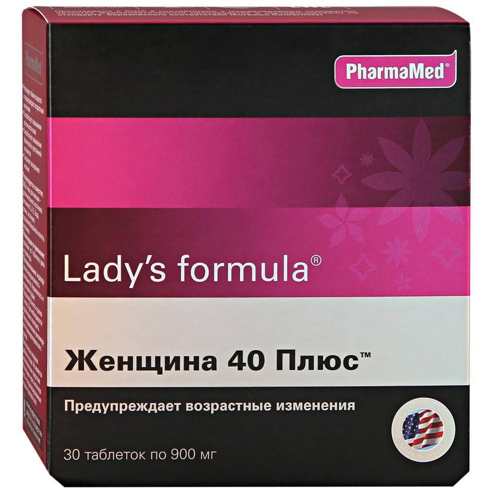 Выбор витаминов для женщин 40+