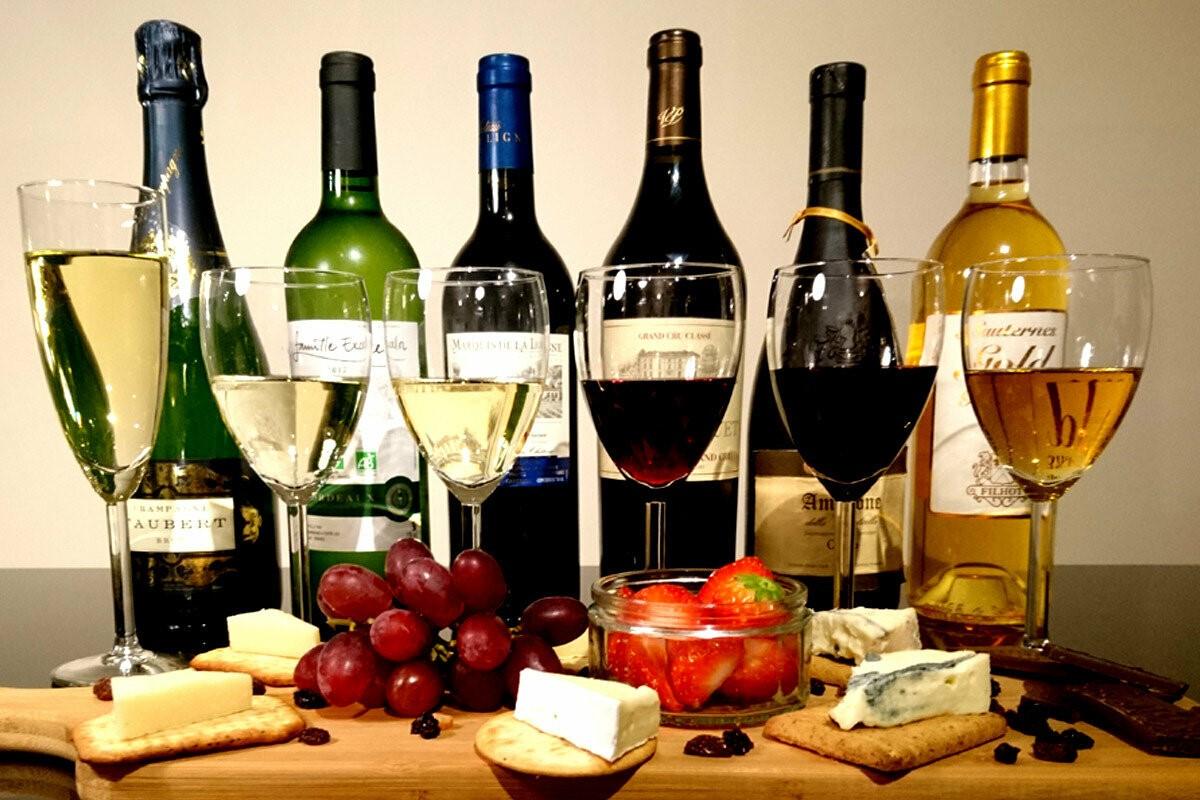 Как подобрать вино к сыру, мясу, рыбе