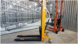 Как выбрать гидравлический штабелер для склада