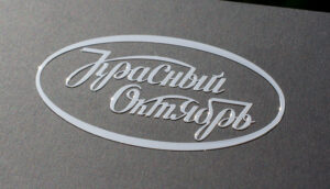 Заказ металлических стикеров с логотипом