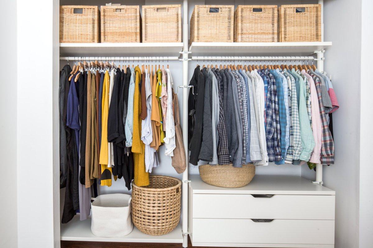 Организация женского гардероба – легко и правильно