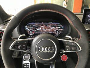 Дооснащение автомобиля audi