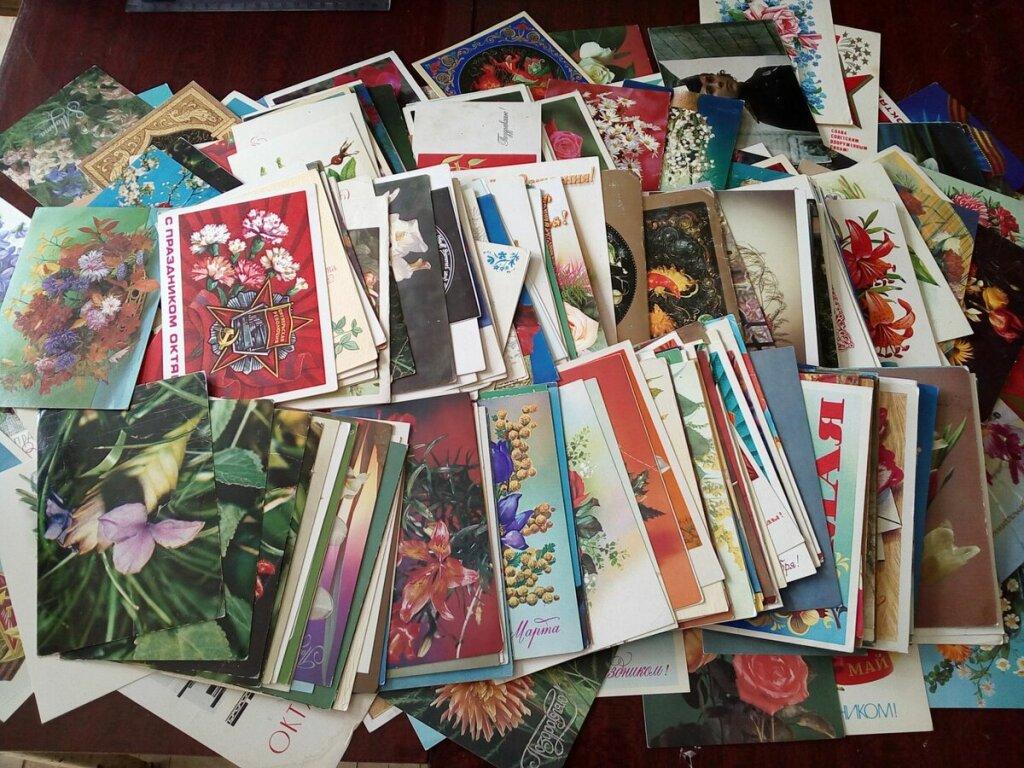 Коллекционирование старых открыток
