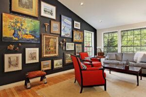 Выбор картины для интерьера дома