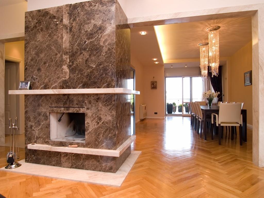 Изделия из искусственного камня в интерьере квартиры