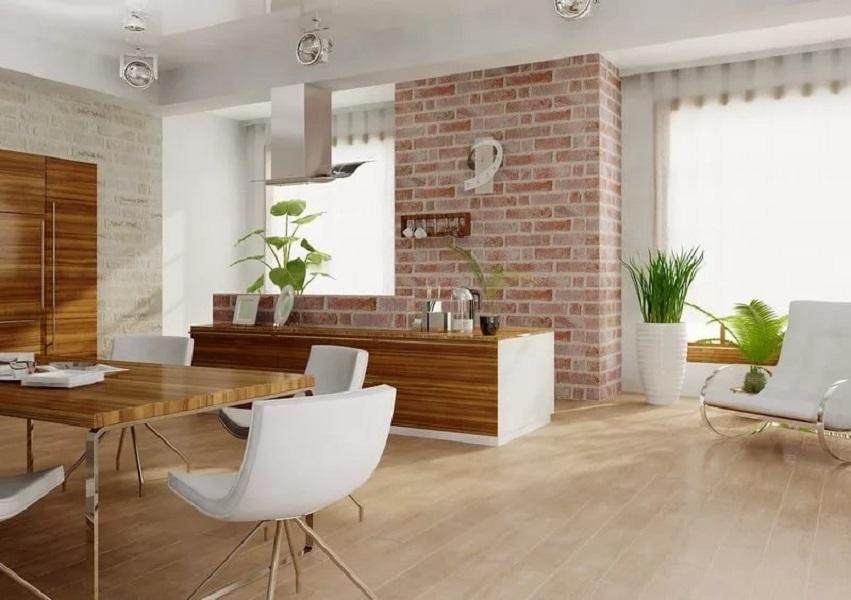 Главные преимущества керамогранита для внутренней отделки дома