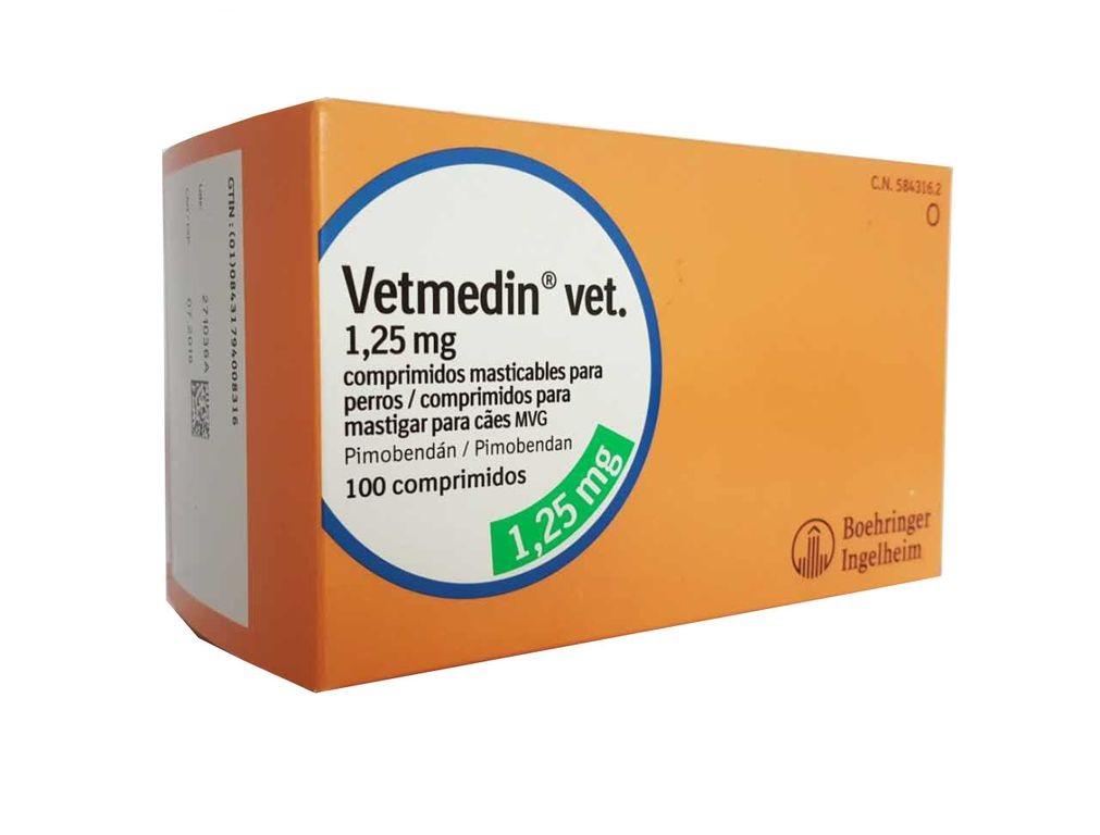 Показания и противопоказания к применению Ветмедин 1,25 мг