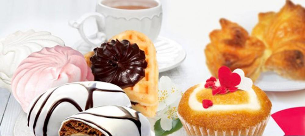 Большой ассортимент сладостей от кондитерской фабрики «Кондитер Т-Престиж»