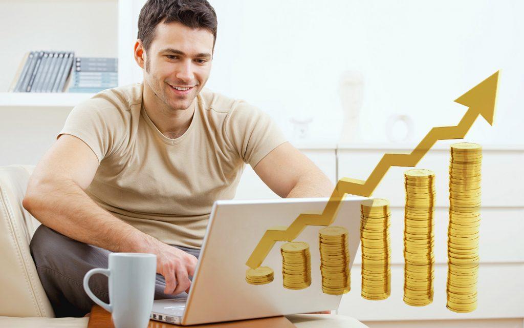 Онлайн заработок с инвестициями