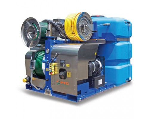 Насосы высокого давления для каналопромывочных машин