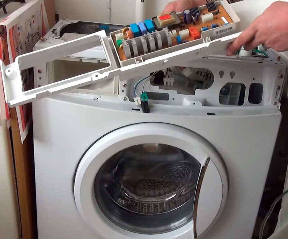 Возможные неисправности стиральной машинки