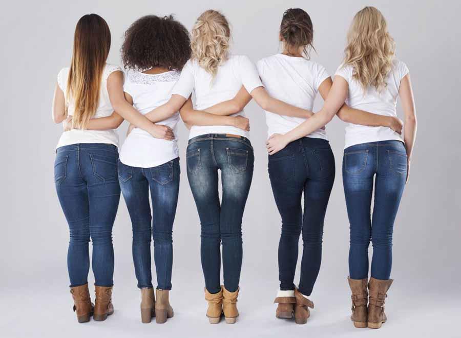 Как правильно подобрать джинсы по типу фигуры?