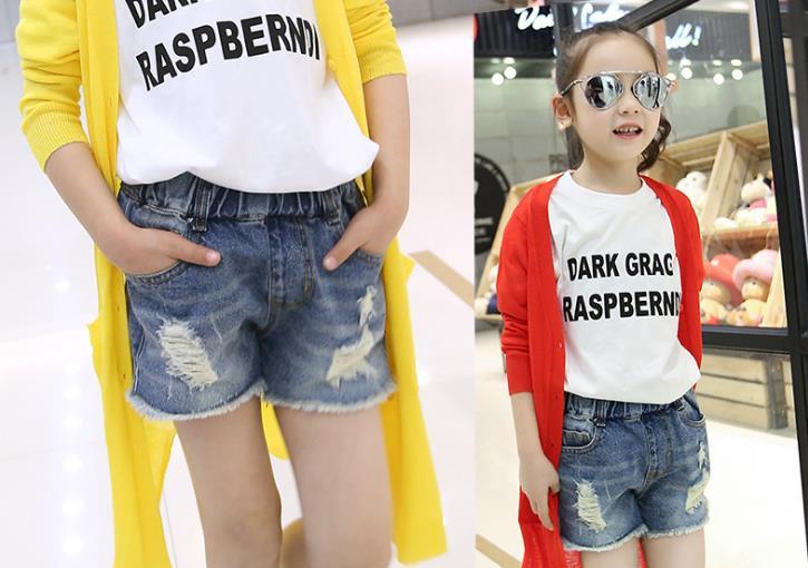 Модные шорты для девочек